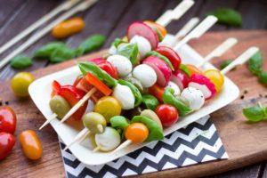recettes d'été à base de légumes