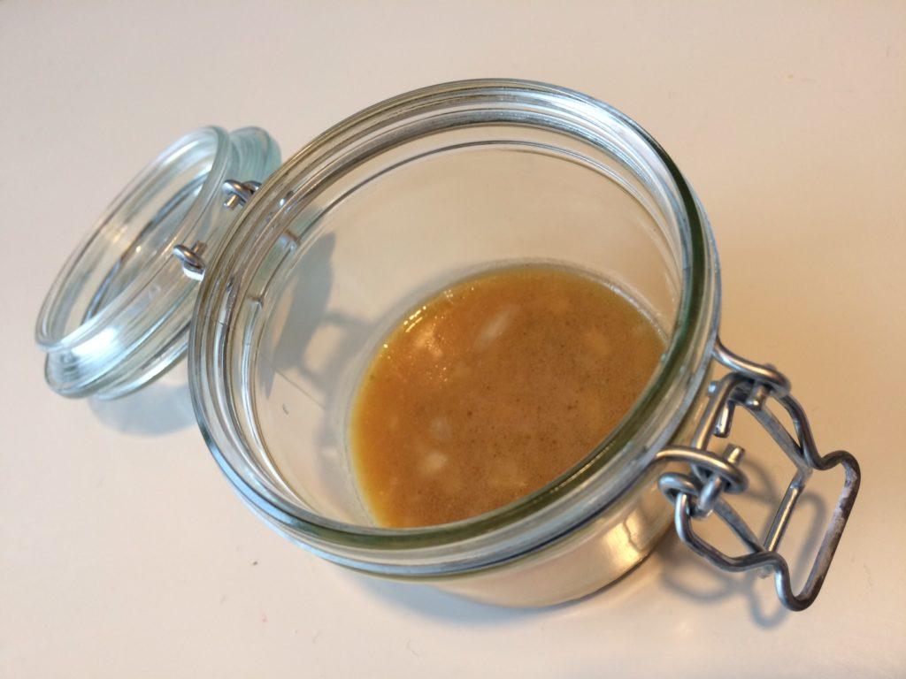 vinaigrette maison échalote et miel