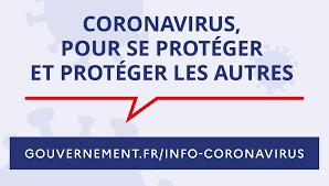 actus logo gouvernement coronavirus gestes barrières